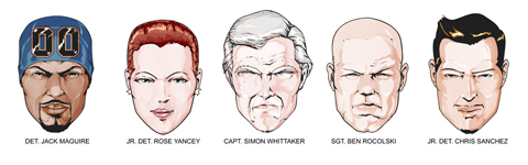 Nowhere Man Character Heads